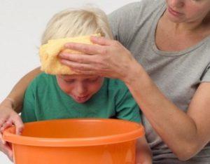 причины рвоты у ребенка