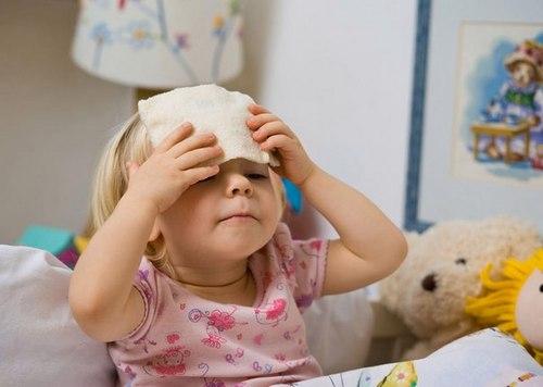 Сколько держится высокая температура при ОРВИ у ребенка
