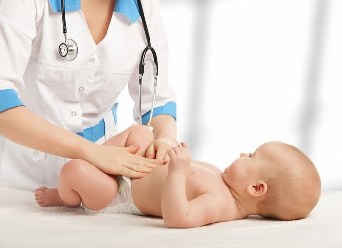 Колики у новорожденного малыша