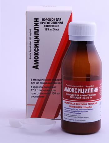 Действие антибиотика
