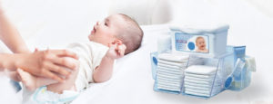 Средства гигиены и предметы для ухода для новорожденного